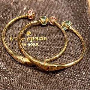 Kate Spade Lady Marmalade cuff bracelets